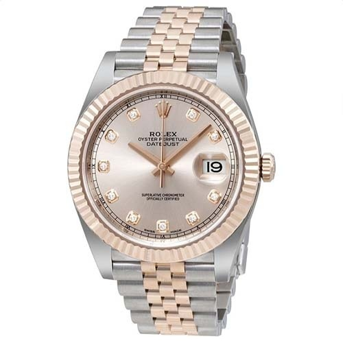 ROLEX Datejust Sundust Diamond-01